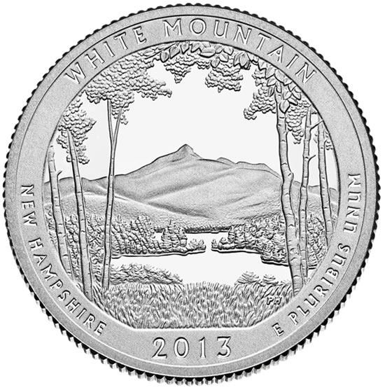 White-Mountain-National-Forest-Quarter